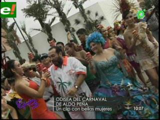 """Se grabó """"Odisea del Carnaval"""" de Aldo Peña"""