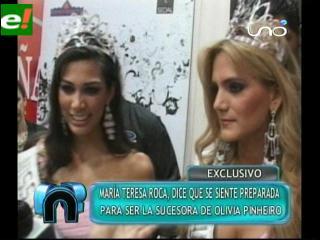 Continúan los comentarios sobre la polémica de Olivia Pinheiro Miss Bolivia