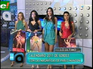 Calendario Soboce 2011 con las Magníficas