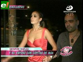 Desirée Durán fue sorprendida por D&F