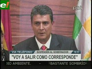 Ernesto Suárez denuncia golpe de estado