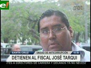 Detienen a Fiscal José Tarqui