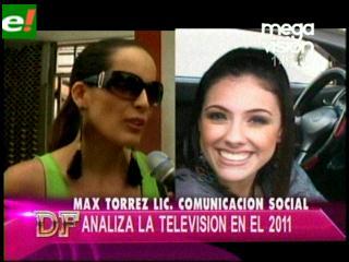 Max Torres analiza la tv nacional