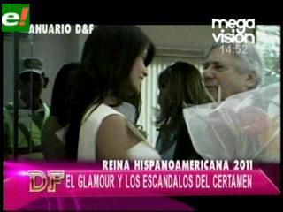 Glamour y escándalo del Reina Hispanoamericana 2011
