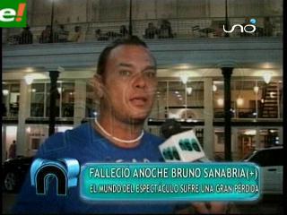 Falleció Bruno Sanabria