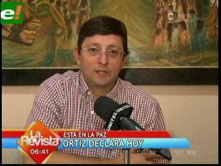 Óscar Ortiz citado a La Paz por daños económicos al Estado