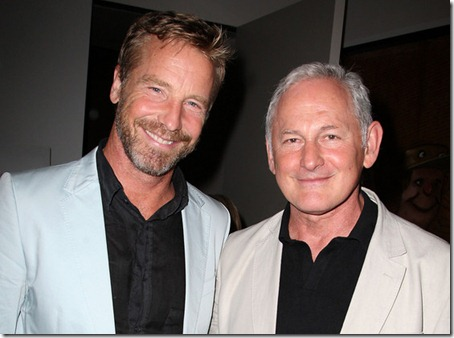 Victor Garber with guest