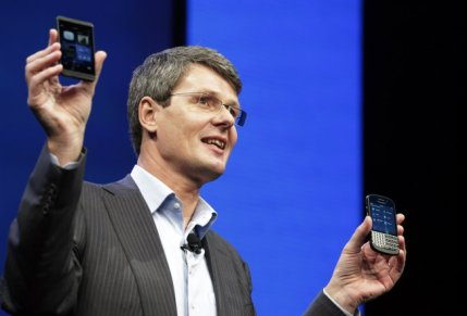 CEO de BlackBerry Thorsten Heins