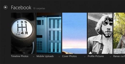 La aplicación de fotos de Windows 8.1 perderá la integración con Facebook
