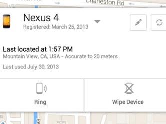 Android tendrá una herramienta oficial para ubicar dispositivos robados