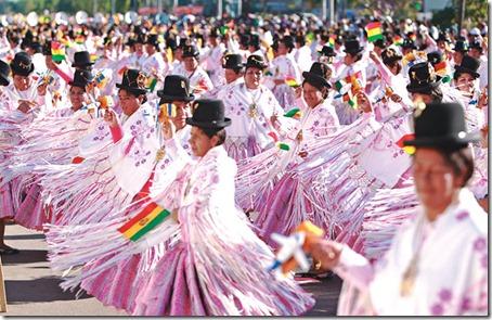 Bolivia adquirió visibilidad y mostró la riqueza de su música y danza