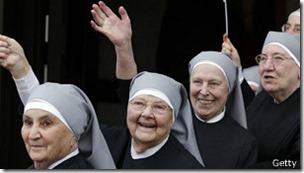 Estudios con monjas también son muy valiosos pues viven en un mismo entorno por mucho tiempo.