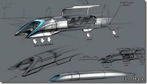 Musk cree que su sistema de transporte sería una buena alternativa al tren de alta velocidad.
