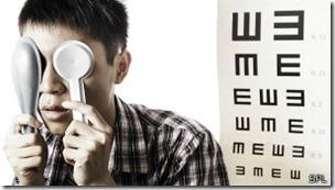 No se sabe por qué una gente desarrolla la miopía y otra no.