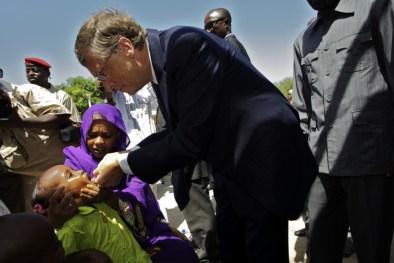 Vacunación campaña de Bill Gates