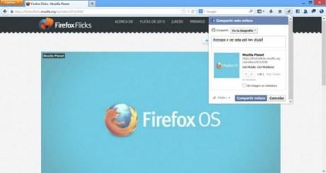 nuevo firefox 23 mas social
