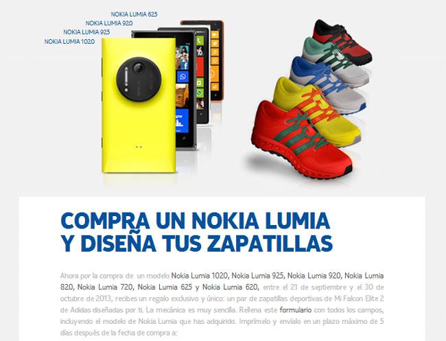 Unas Regalan Zapatillas Adidas Por Lumia Los Nokia Te Personalizadas cRqjL3S54A