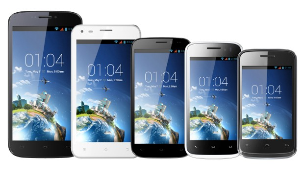 Smartphones de Kazam.