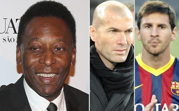 "Pelé: ""Zinedine Zidane fue aun mejor que Lionel Messi"