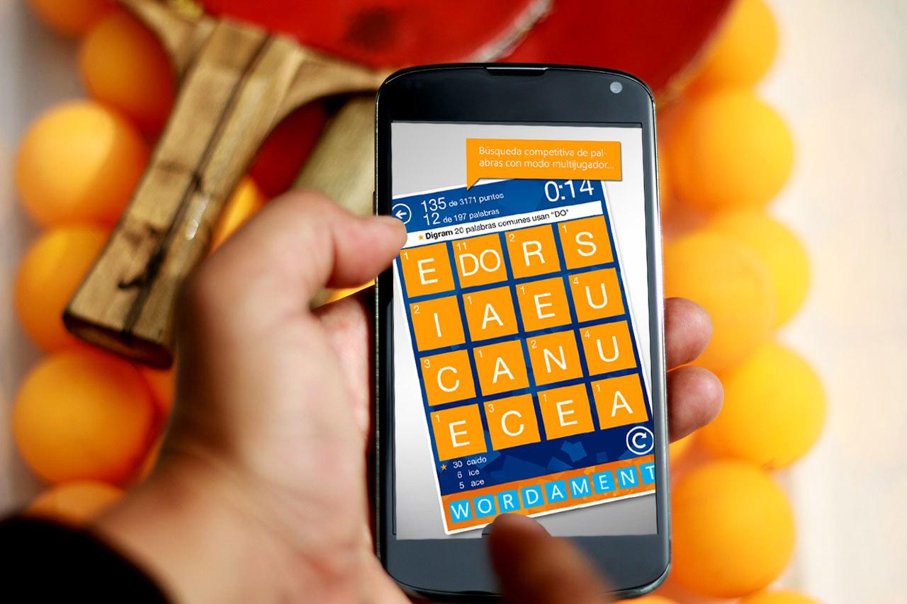 juegos para Android Wordament