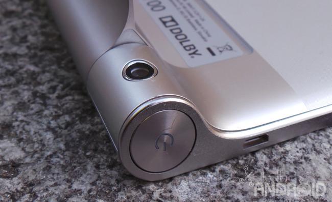 Lenovo Yoga Tablet cámara