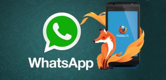 whatsapp firefox os