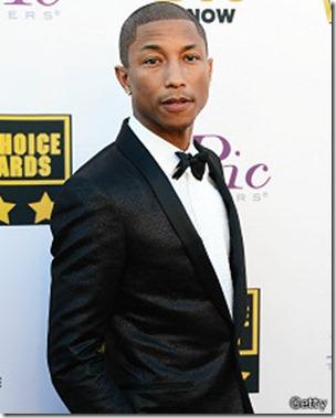 Williams, de 40 años, está nominado a siete premios Grammy.