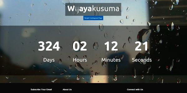 Wijayakusuma: plantilla html