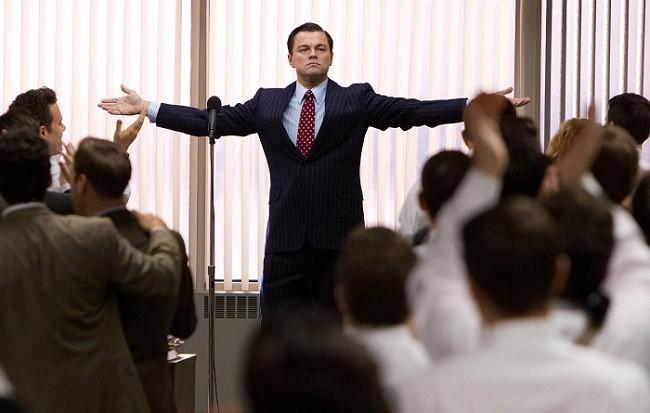 Leonardo DiCaprio es 'El lobo de Wall Street'