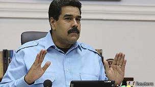 presidente de Venezuela Nicolás Maduro