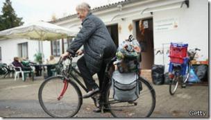 Las pensiones de los jubilados no son suficientes.