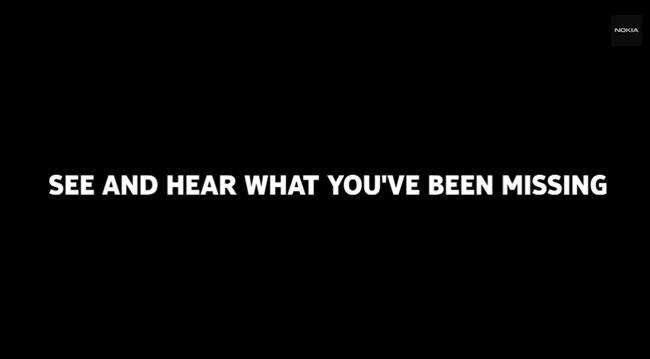 Eslogan de Nokia en un video