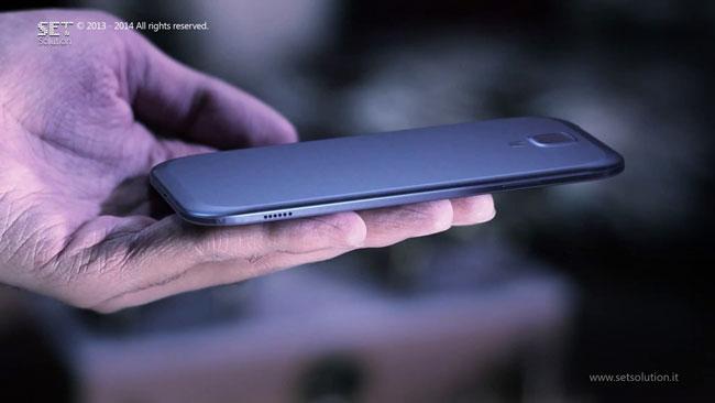 Carcasa de aluminio del Samsung Galaxy S5