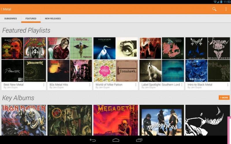 google play music sincronizar musica en android
