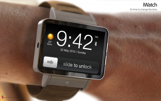 Posible iWatch.