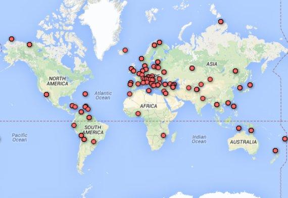 mapamundi países sochi