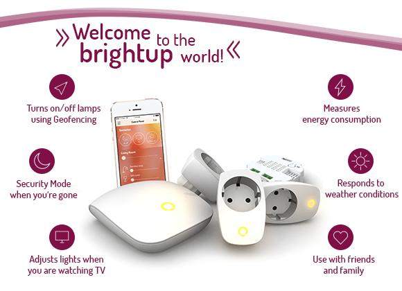 Brightup automatiza la luz de tu casa... y sin cambiar de bombillas