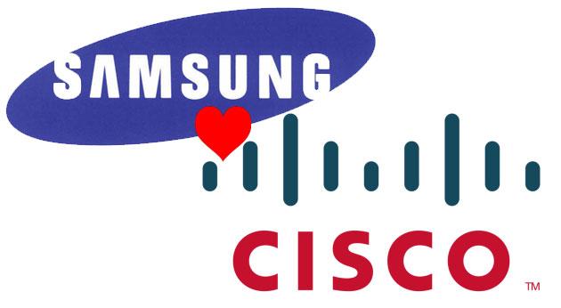 Samsung y Cisco llegan a un acuerdo para compartir patentes