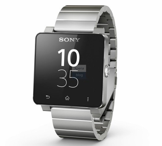 sony smartwatch 2 silver metal