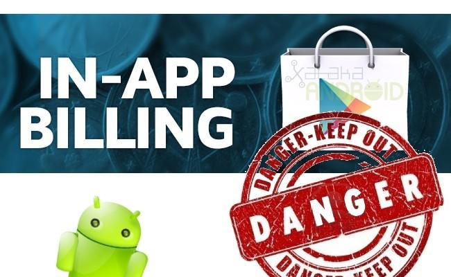 Problemas in-app