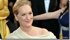 Maryl Streep es una de las afortunadas que tiene fama de haber envejecido con gracia