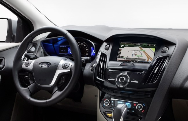 Ford Focus eléctrico GPS