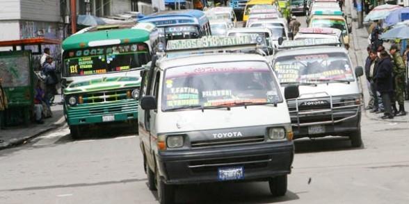 Tras conocer incremento salarial, Choferes de La Paz analizan subir pasajes en 0.90 ctvs.