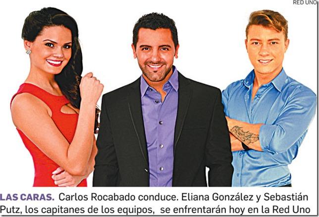 Carlos Rocabado conduce, Eliana González y Sebastián Putz los capitanes del equipo.