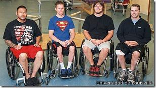 Los cuatro participantes lograron controlar sus movimientos tras la estimulación eléctrica.