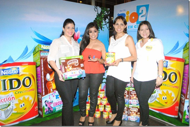 Mariela Gutierrez mkt Cereales- Lucia Vasquez -MF - Fabiola Foronda MKT Lacteos NESTLE