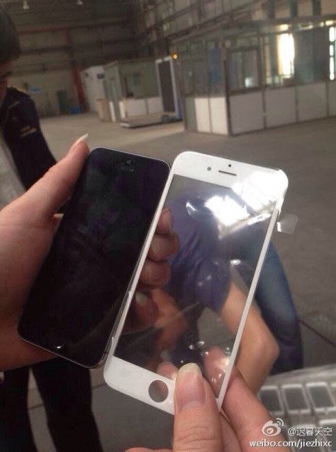 iphone 6 alleged front panel