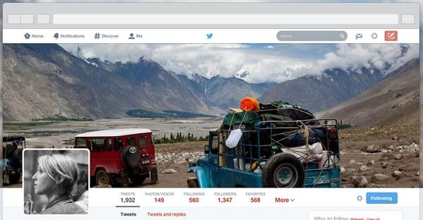 nuevos perfiles diseño twitter
