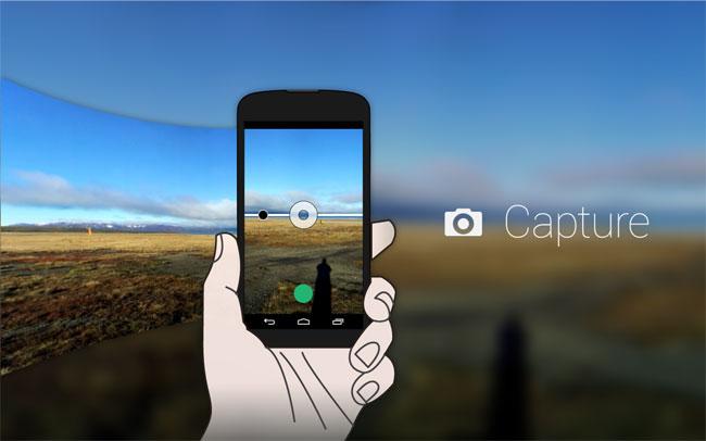 360, captura de pantalla