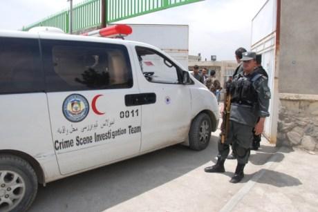 policia afgana